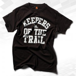 "Thr33ky-T-Shirt ""Keepers of the Trail"" Boys"