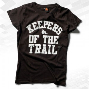 "Thr33ky-T-Shirt ""Keepers-of-the-Trail"" Girls"