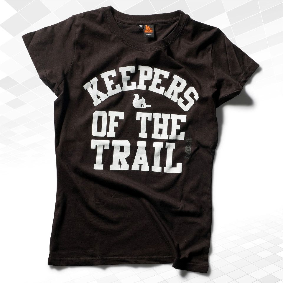 """Keeperfinder Com Clothes: T-Shirt """"Keepers Of The Trail"""" Girls ★ THR33KY"""