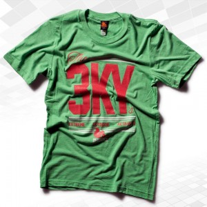 "Thr33ky-Triblend-Shirt ""The 3KYs"" Boys"