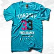"Triblend-Shirt ""33-Endurance"" Boys Aqua"
