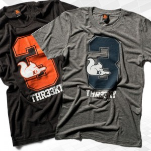 "Thr33ky-Triblend-Shirt ""Big 3"" Boys"