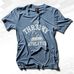"Thr33ky-Triblend-Shirt ""Threeky-Athletes"" Boys"