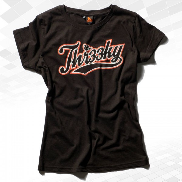 "Thr33ky-T-Shirt ""Baseball 3KY"" Girls"