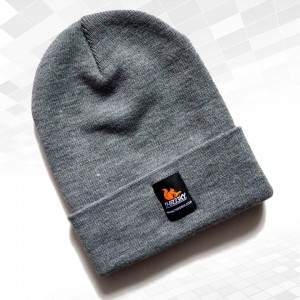 "Thr33ky-Beanie ""Heather-Grey"""