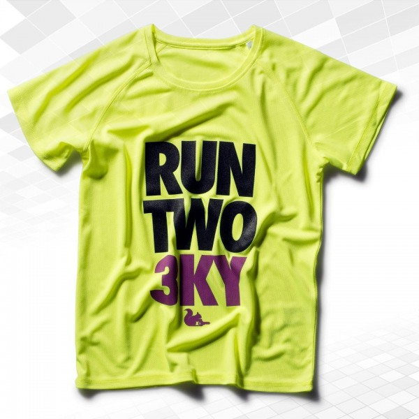 "Laufshirt ""Run Two 3KY"""