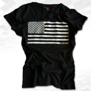 "Thr33ky-T-Shirt ""Squirrel Flag"" Girls"