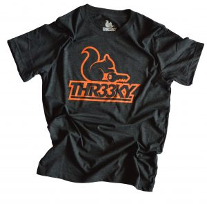 Triblend-Shirt Squirrel Outlines Boys