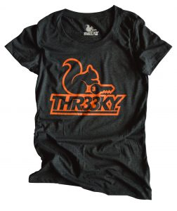 Triblend-Shirt Squirrel Outlines Girls