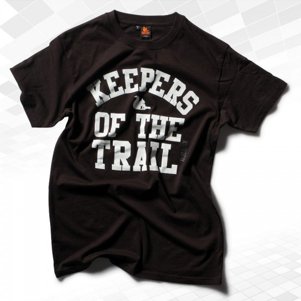"""Thr33ky-T-Shirt """"Keepers of the Trail"""" Boys"""